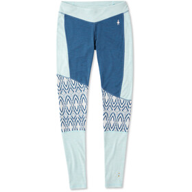Smartwool Merino 250 Asym Bottom Women, nile blue medallion